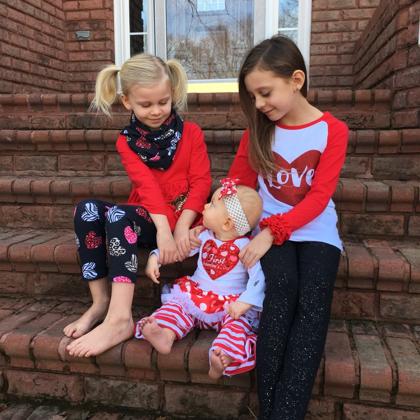 Valentines Day Outfits for Little Girls