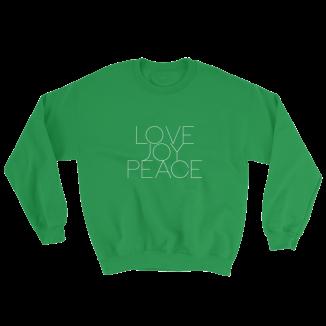 lovejoypeacewhiteletterscentered_mockup_Flat-Front_Irish-Green